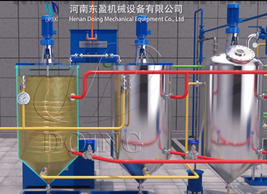 Palm oil refinery plant design,install project ,runing video,palm