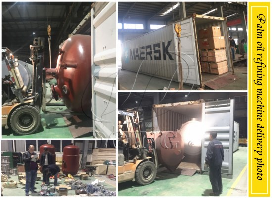 2tpd palm oil refining machine will be send to Nigeria