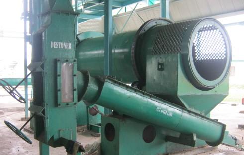 Palm oil mill process description