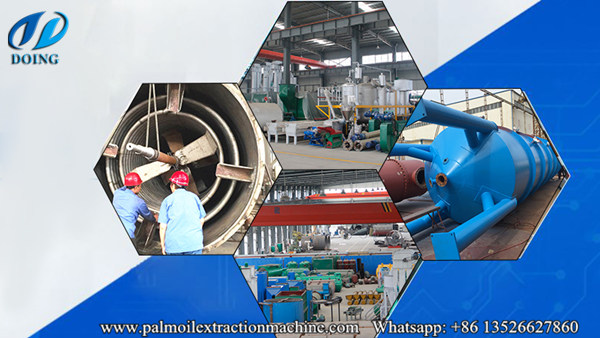 palm kernel oil refinery plant manufacturing workshop